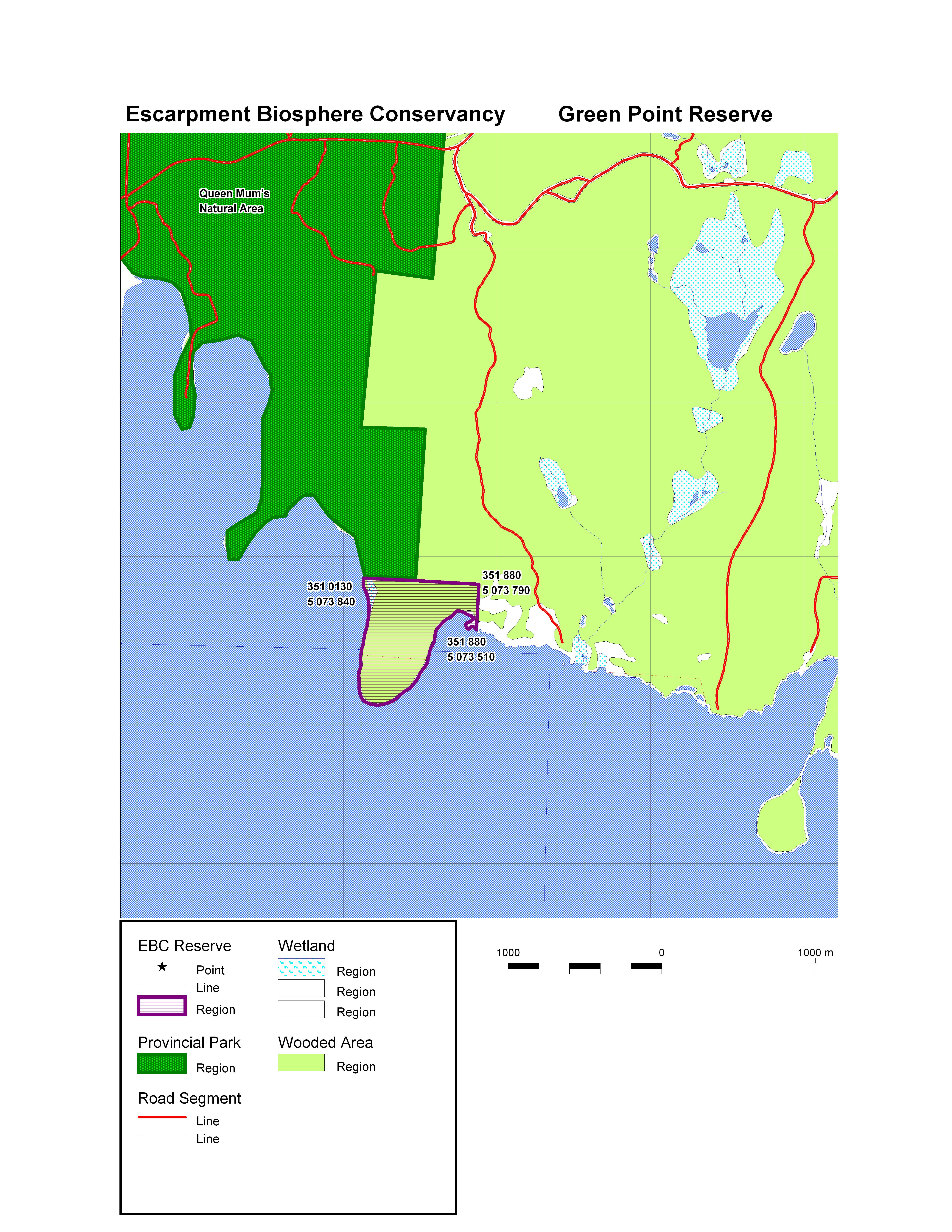 Green Point Map